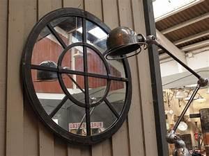 le grenier roubaix france stock miroir industriel With miroir rond metal