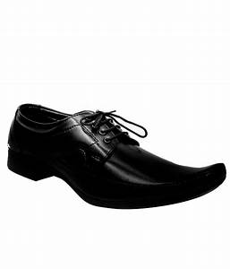Kraasa Black Formal Shoes Price in India- Buy Kraasa Black ...