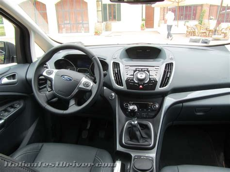 interni ford c max test drive ford c max 1 0 litri ecoboost 125 cv