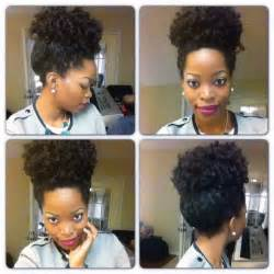 Crochet Braids Natural Hair Style
