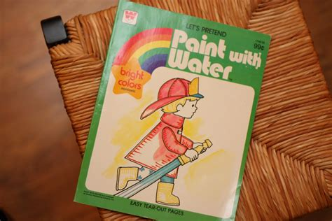 watercolor paint books diy quot paint with water quot pages i can teach my child