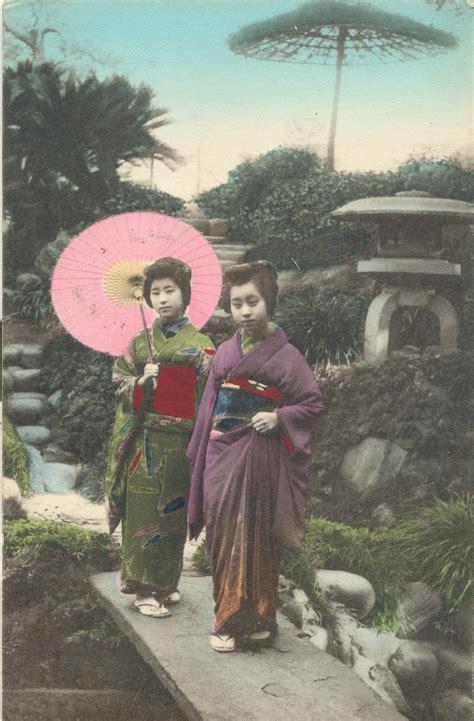 My life as a dreddie monster: old japanese postcard