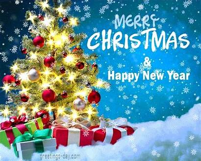 Christmas Gifs Merry Greetings Animated Happy Greeting