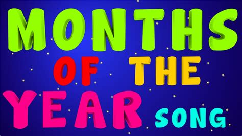 months of the year song for preschool months of the year song calendar in order 260