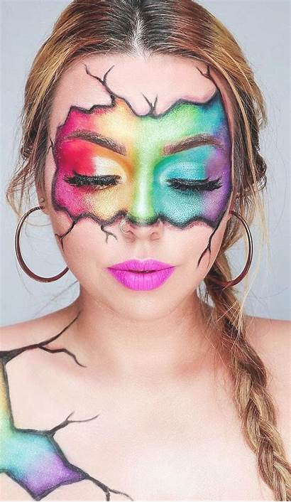 Makeup Maquillaje Colorful Face Ojos Eye Looks