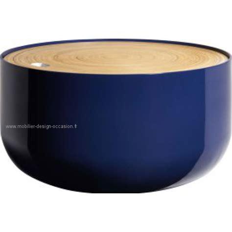 Table D'appoint Noire En Bambou Habitat (neuve ) Habitat