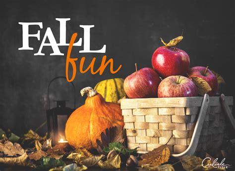 Fall Activities, Festivities & Fun  Carlisle Title
