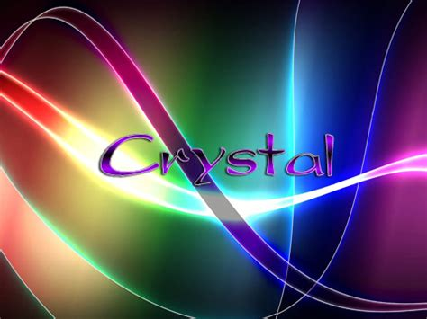 crystal  wallpaper gallery