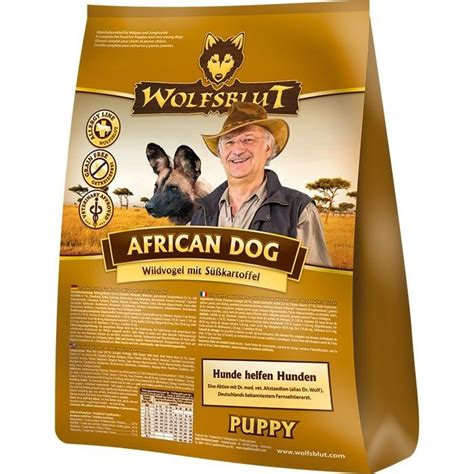 wolfsblut african dog puppy welpenfutter von wolfsblut