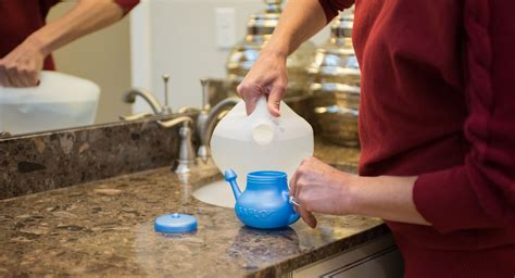 Nasal Irrigation Can Help Relieve Allergy Symptoms By