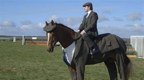 horse  wearing  tweed suit sbnationcom