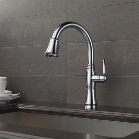 D9197ARDST Cassidy Pull Out Spray Kitchen Faucet   Arctic