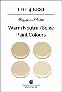 The best warm neutral, beige or tan paint colours Kylie M