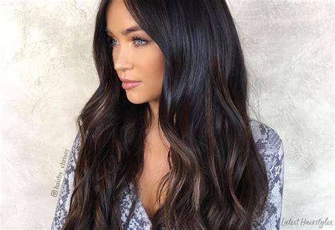 hottest dark brown hair colors  inspire