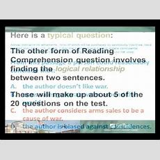 Accuplacer  Reading Comprehension Youtube