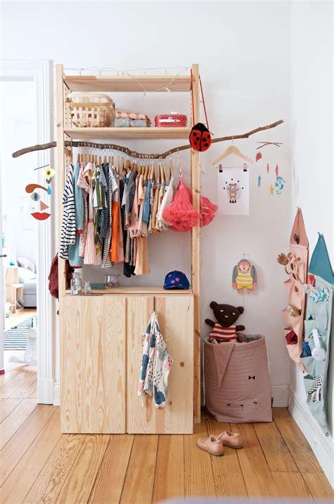 Ikea Ivar Ideen Kinderzimmer by Imprivisierter Kleiderschrank Mit Ivar G 252 Nstig Und