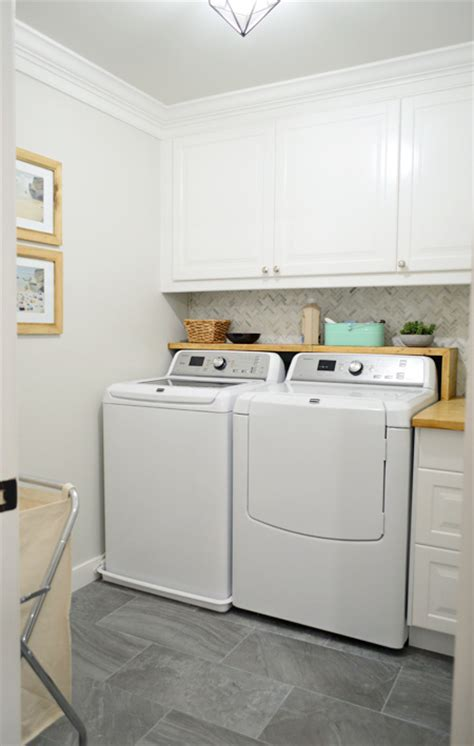Woot! Our Big Laundry Room Renovation Is Done! Young