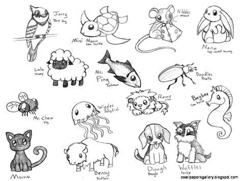 cute animal drawings tumblr wallpapers gallery
