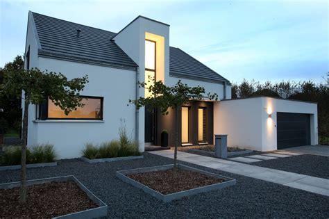Moderne Häuser Satteldach Bilder by Eingangsbereich Nachtaufnahme H 228 User Architektur