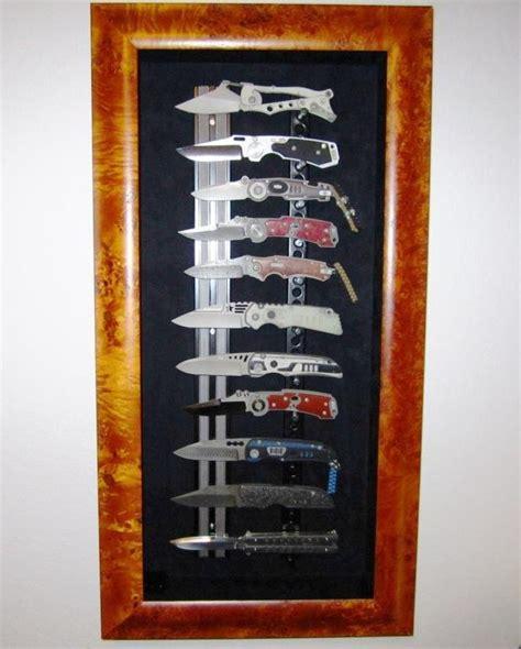 custom knife wall display shadow box forumsaiga  gallery forumsaiga