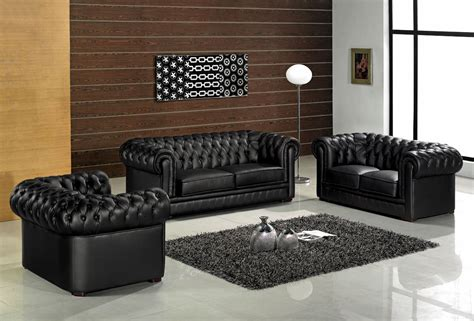 canapé chesterfield cuir 2 places ensemble 3 pices canap 3 places 2 places fauteuil en