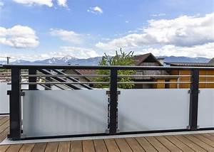 Balkongeländer Glas Anthrazit : alu design casa linea leeb balkone und z une ~ Michelbontemps.com Haus und Dekorationen