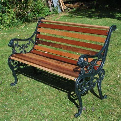 antiques atlas small cast iron garden bench