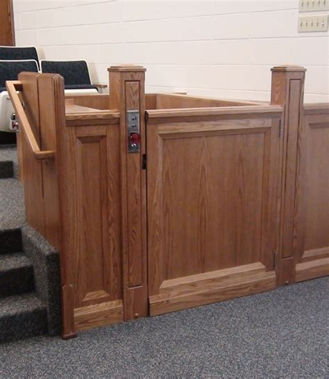 wheelchair platform lift for churchesuniversal design style
