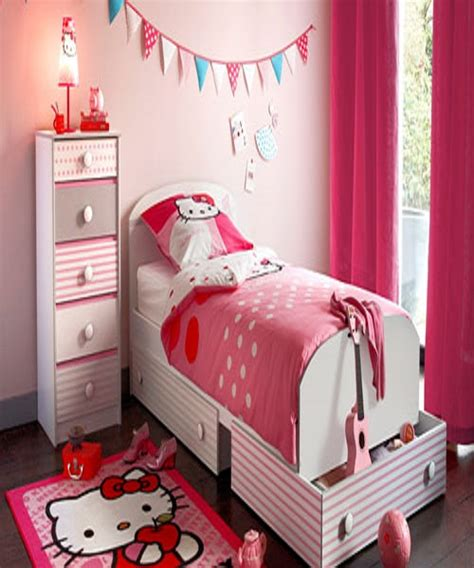 idee d 233 co chambre fille d 233 coration enfant hello kitty