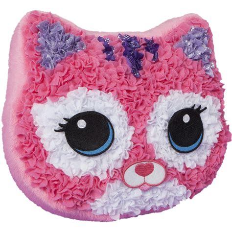 plush craft pillow plush craft purr fect pillow kit home crafts hobbies