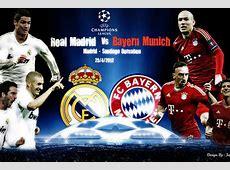 Real Madrid Vs Bayern Munich, 2012 Champions League