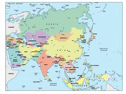 Asia Map Powerpoint Maps Mapa Ppt Presentation