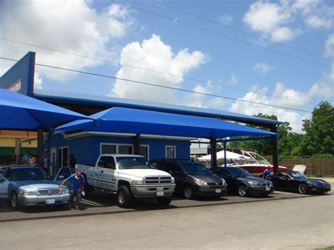 car wash shade structures shade sails canopies awnings