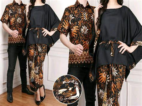 jual baju serri lengkap kemeja pria dan blouse pluse rok wanita batik di lapak agnes