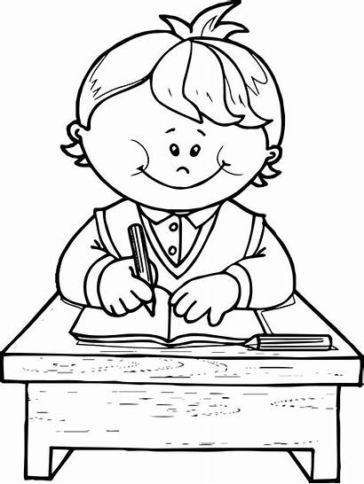 Coloring Write Boy Pages Printable Boys Sheets