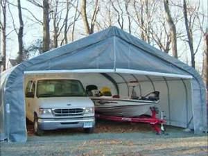 How To Clean Snow Off Shelterlogic Portable Tarp Garage