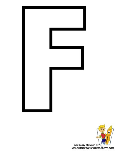 letter f template classic alphabet printables learning letters free