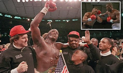 buster douglas remembers knocking  mike tyson  years