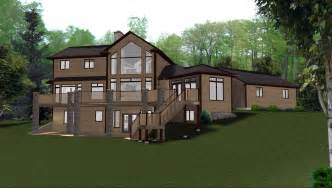 walkout house plans walkout basements plans by edesignsplans ca 8