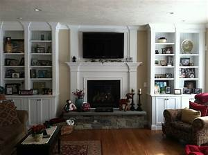 Fireplace with bookcases Wood Trim for the Home Pinterest