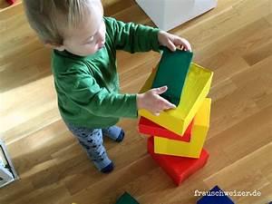 Bauen Für Kinder : anleitung gross bausteine f r klein kinder frau ~ Michelbontemps.com Haus und Dekorationen