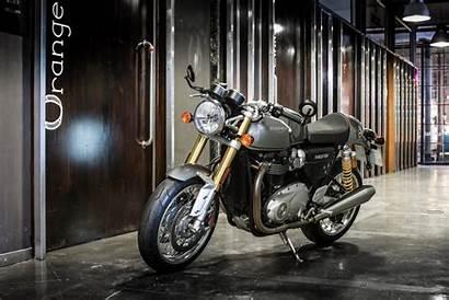Thruxton Triumph Visordown Rs Ride India Launched