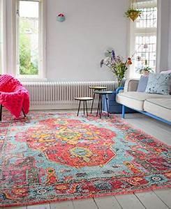 Teppich Shabby Chic : vintage look teppich im angesagten shabby chic look f r wohnzimmer schlafzimmer flur etc ~ Buech-reservation.com Haus und Dekorationen