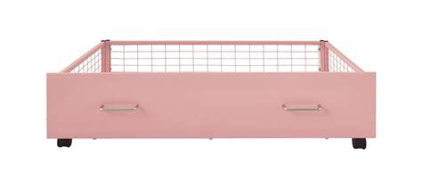 pink underbed storage drawers bishops beds contract