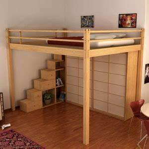 Hauteur Lit Mezzanine : cinius lit mezzanine lits escamotables mezzanine fixe ~ Premium-room.com Idées de Décoration