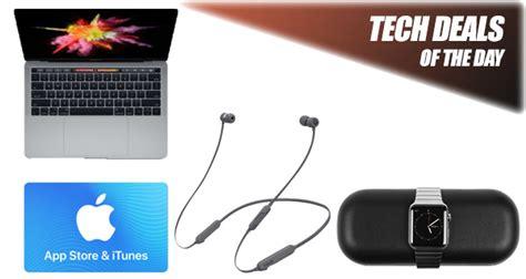 tech deals 550 macbook pro with touch bar 15 itunes gift card 60 beatsx