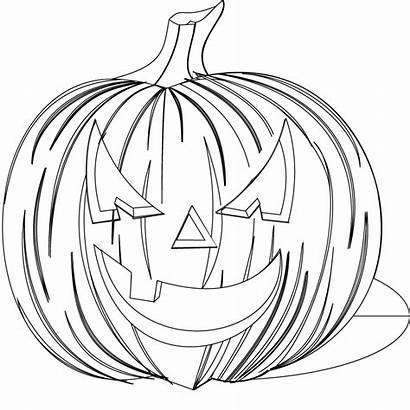 Halloween Coloring Scary Printable Pumpkin Colouring Sheets