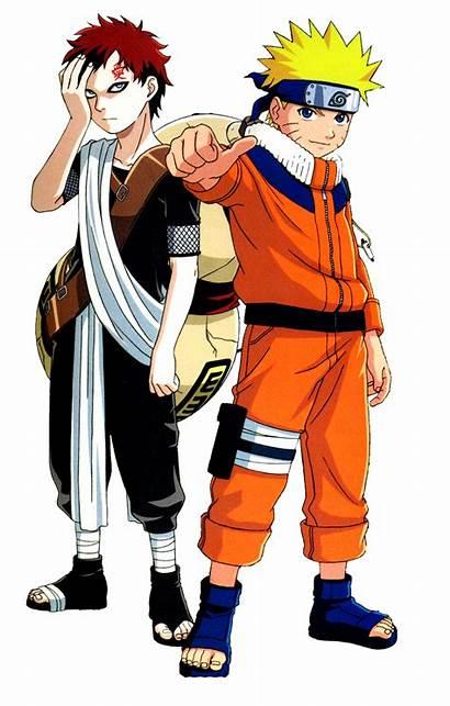 Naruto Render Uzumaki Shippuden Renders Anime Gaara