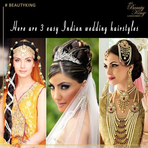 ideas  indian wedding hairstyles  pinterest