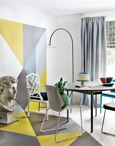geometric dining room designs  inspire
